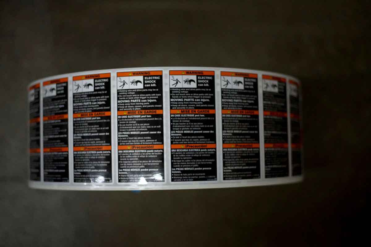 Roll/Product Labels - The Decal Factory